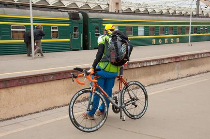 Как ездить в поезде с велосипедом?