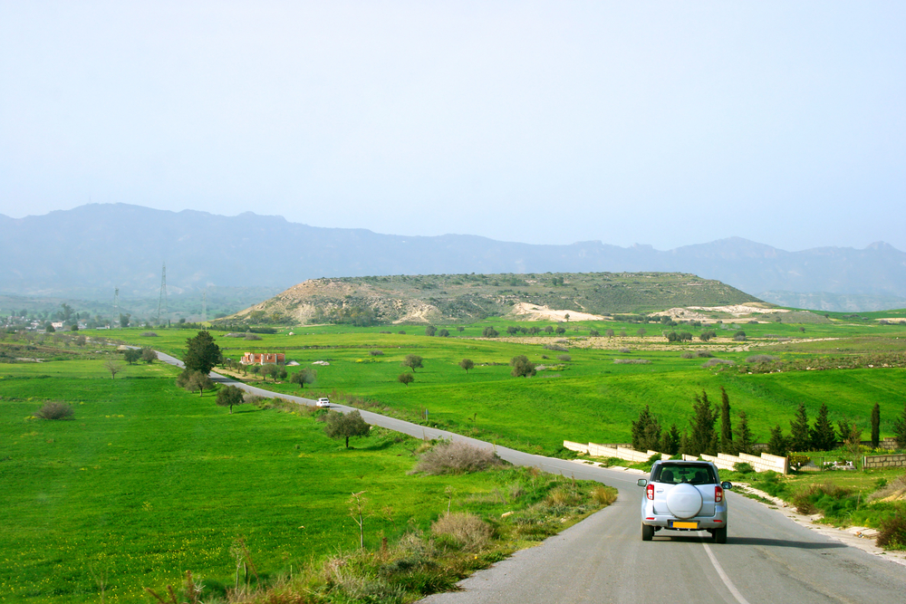 На автомобиле по Кипру