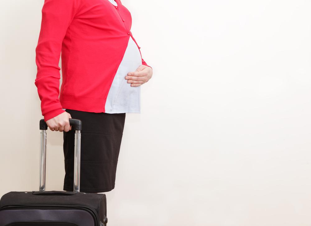 Едем в поезде во время беременности